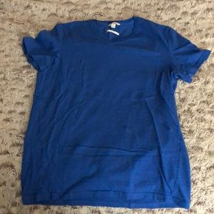 Men's medium Calvin Klein blue slim fit v-neck